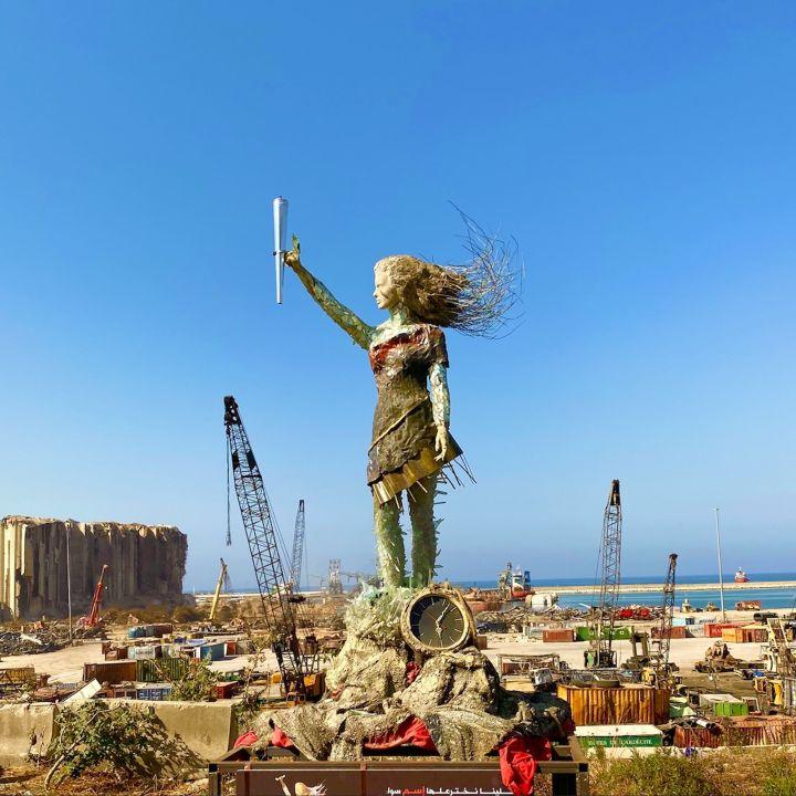 Une sculpture pour accepter la réalité, signée Hayat Nazer! - Art Contemporain -                     Luxe radio