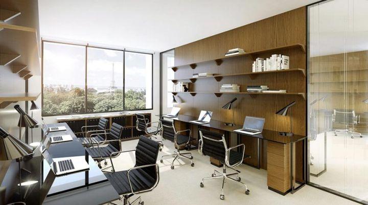 Coworking et nouveaux aménagements bureaux architecture luxe radio