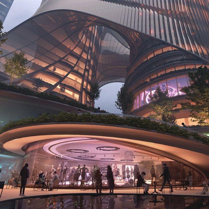 Tower C, le nouveau projet de Zaha Hadid à Shenzhen - Architecture -                     Luxe radio