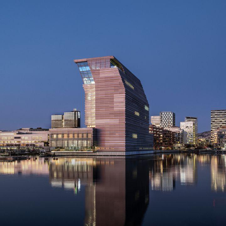 Le Musée Munch à Oslo, rénové par Juan Herreros - Architecture -                     Luxe radio