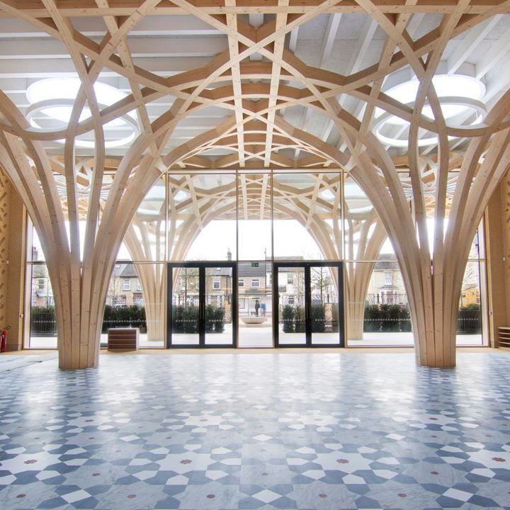 La mosquée de Cambridge: entre esthétique minimaliste et exigence écologique - Architecture -                     Luxe radio