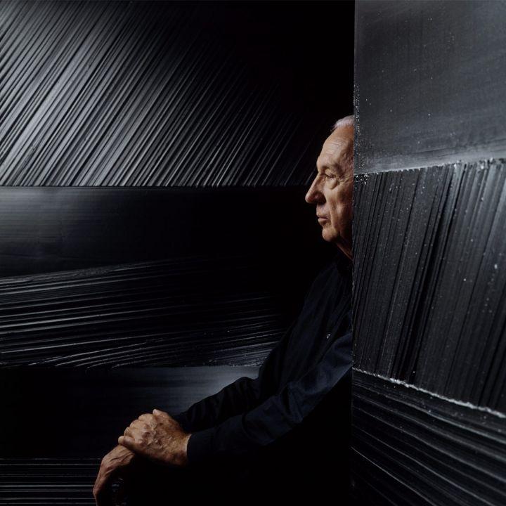 Pierre Soulages : le peintre du noir et de la lumière - Art Contemporain -                     Luxe radio
