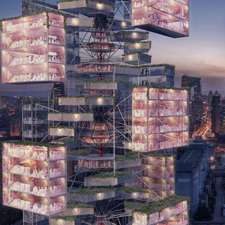 Epidemic Babel: l'hôpital du futur - Architecture -                     Luxe radio