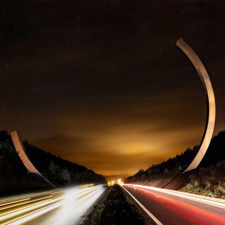 La plus grande sculpture d'acier au monde est en Belgique ! - Art Contemporain -                     Luxe radio
