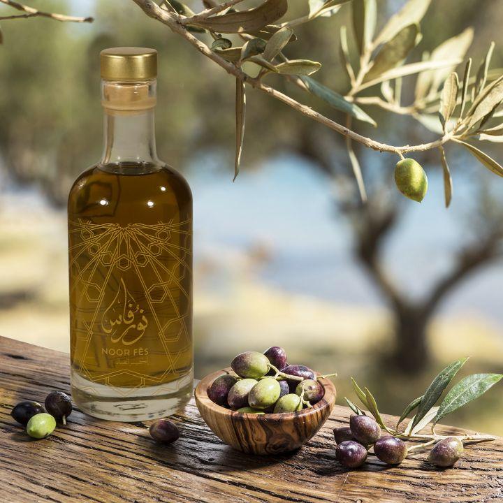 Noor Fès : l'huile d'olive extra vierge au caractère éco-conscient - Le Journal du Luxe -                     Luxe radio